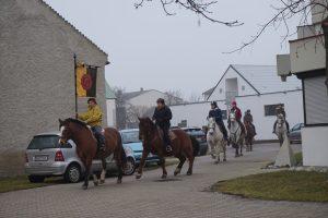 Reiter- und Pferdesegnung, Fest d. Hl. Stephanus.