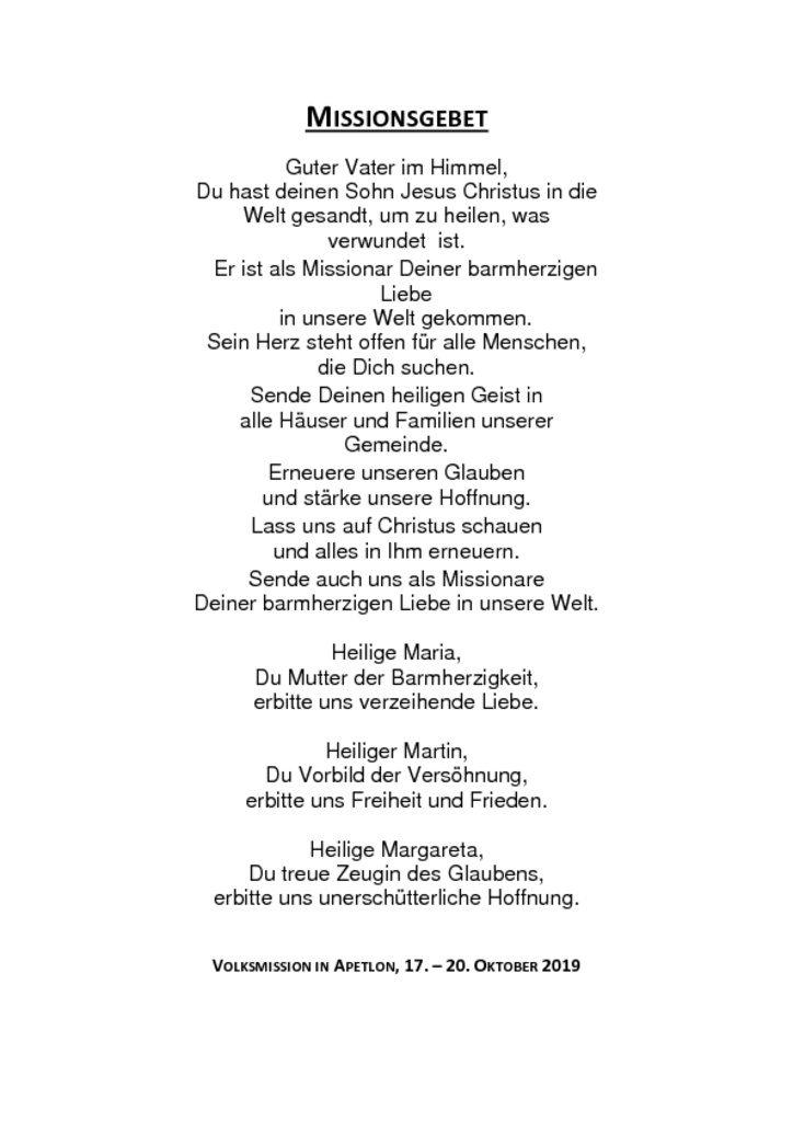 thumbnail of Gebet Volksmission Apetlon 2019