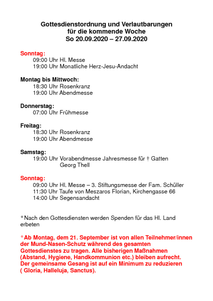 thumbnail of Gottesdienstordnung und Verlautbarungen_20200920